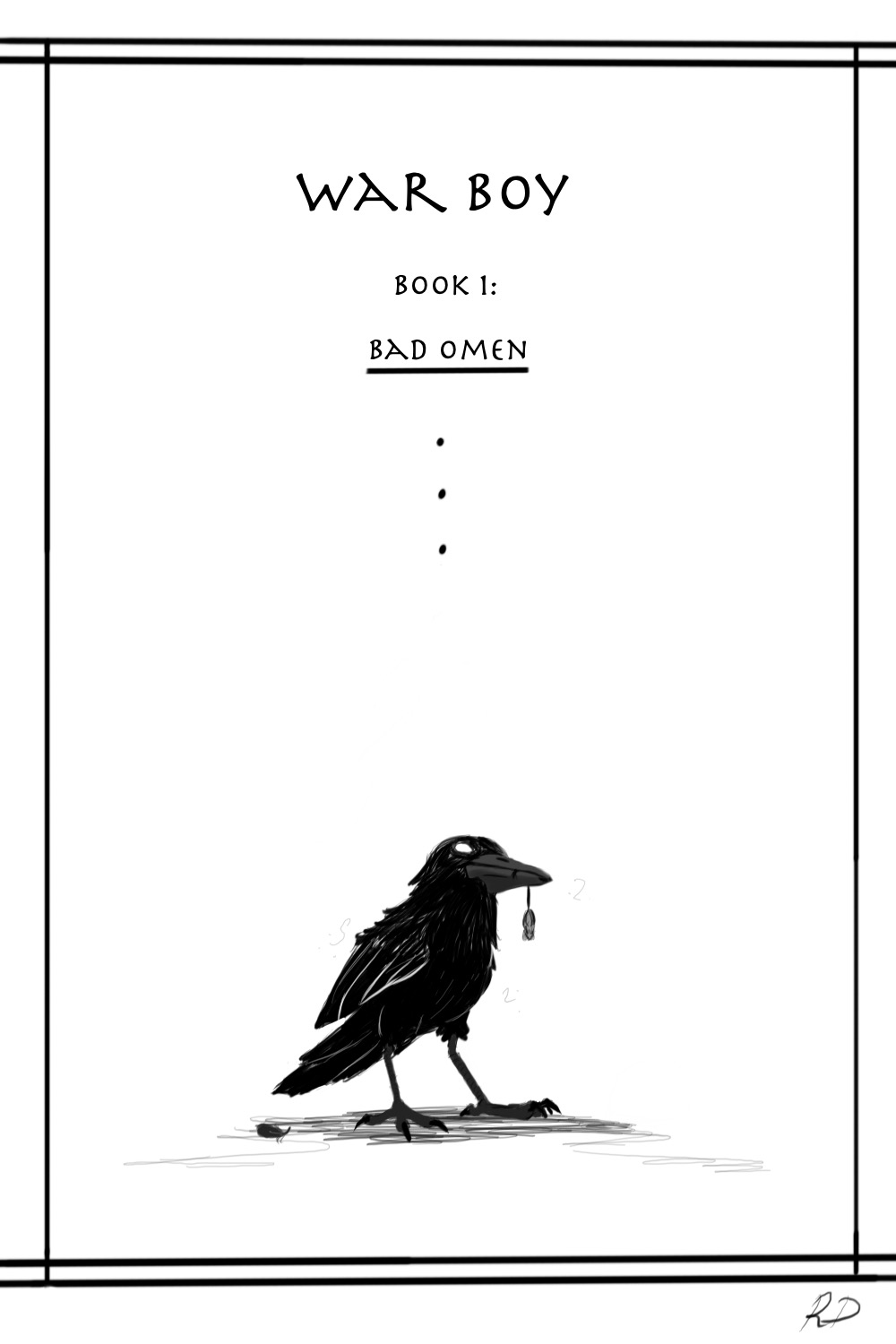 Book 1: Bad Omen Cover Page