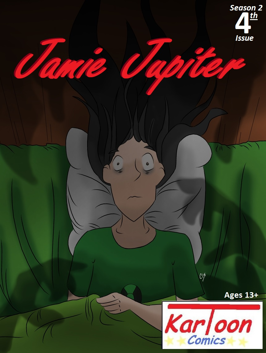 Jamie Jupiter S2 Issue 4-Cover