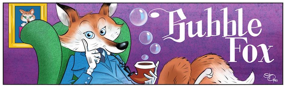 CLASSICALLY BUBBLE!!! BUBBLE FOX FAN ART BY MARK STOKES!!!