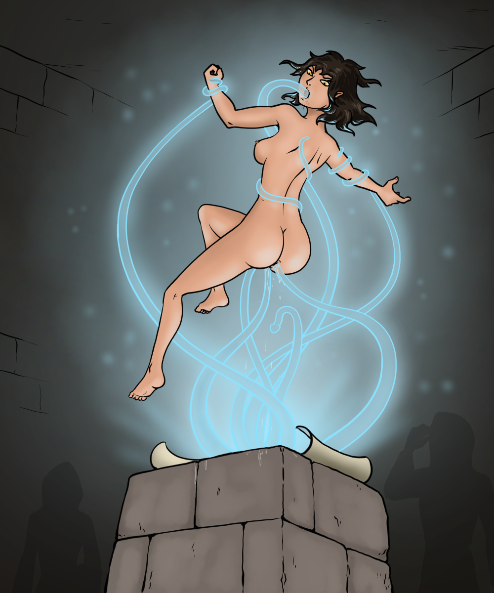Conjuration practice with Frasia