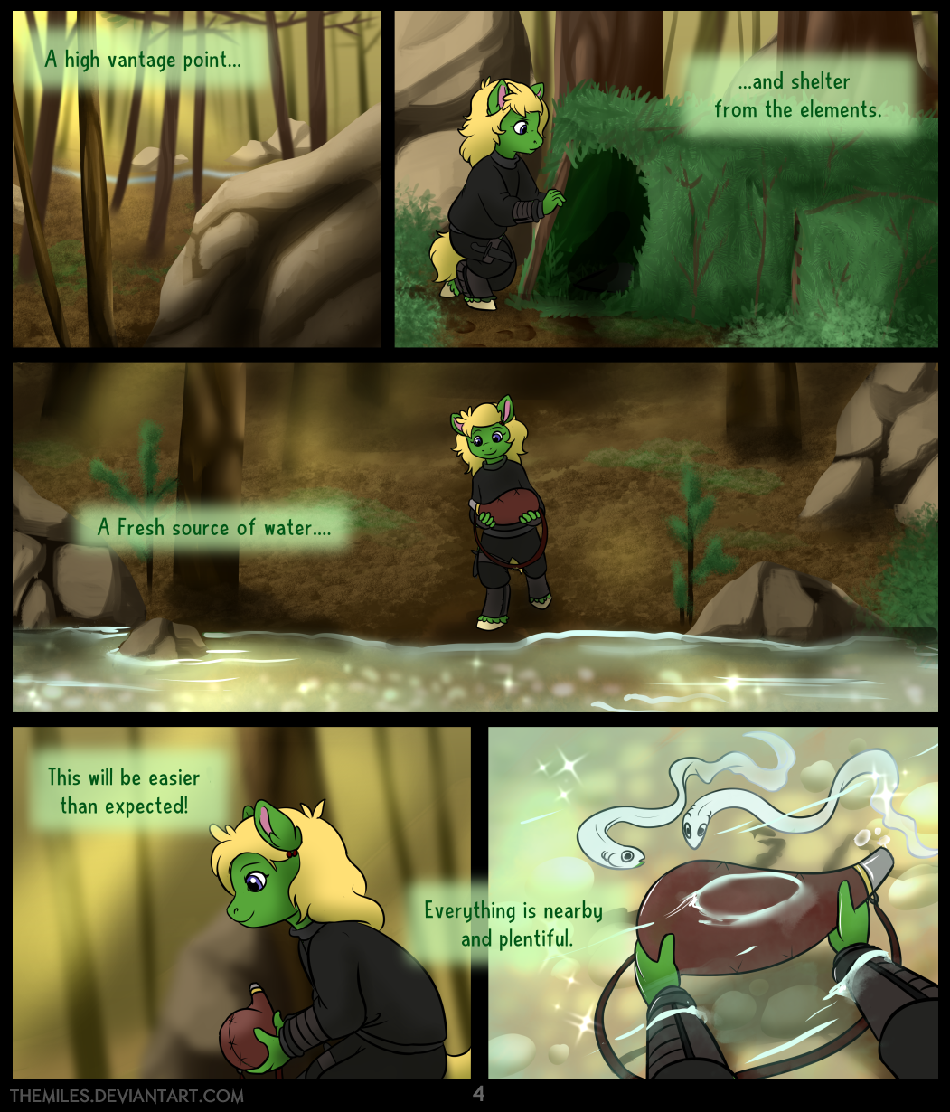 Tales of Aer - Second Tale, Page 4