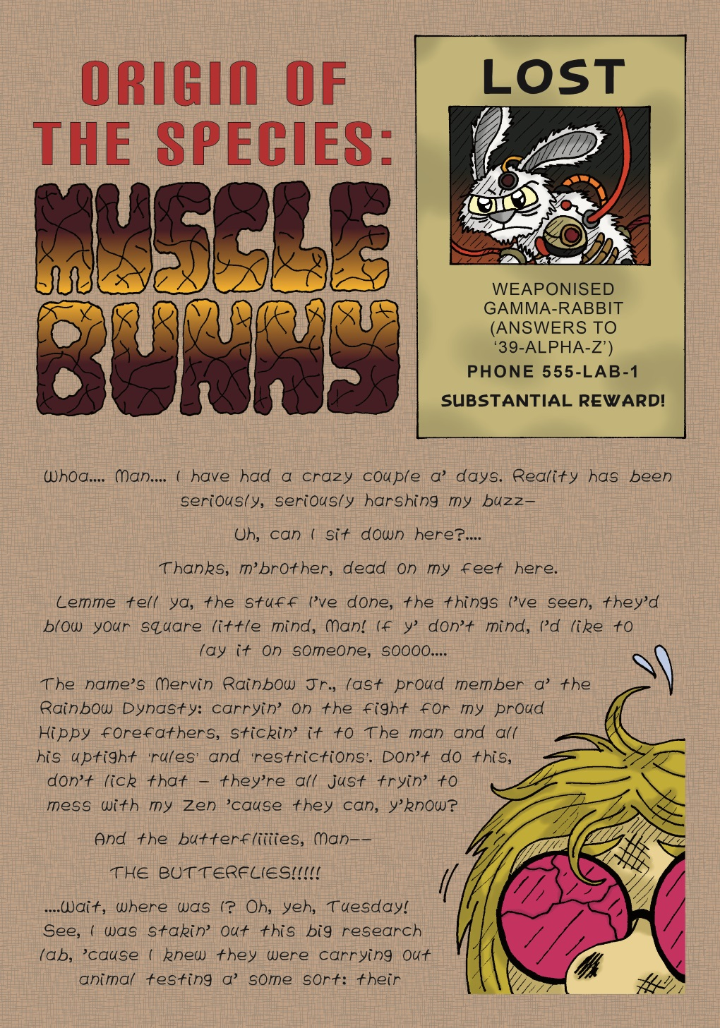 Origin of the Species: Musclebunny, part 1