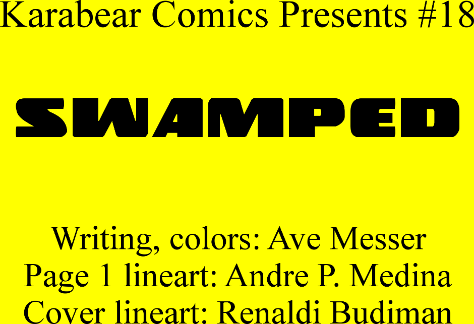 Issue 18: Swamped - Inside cover