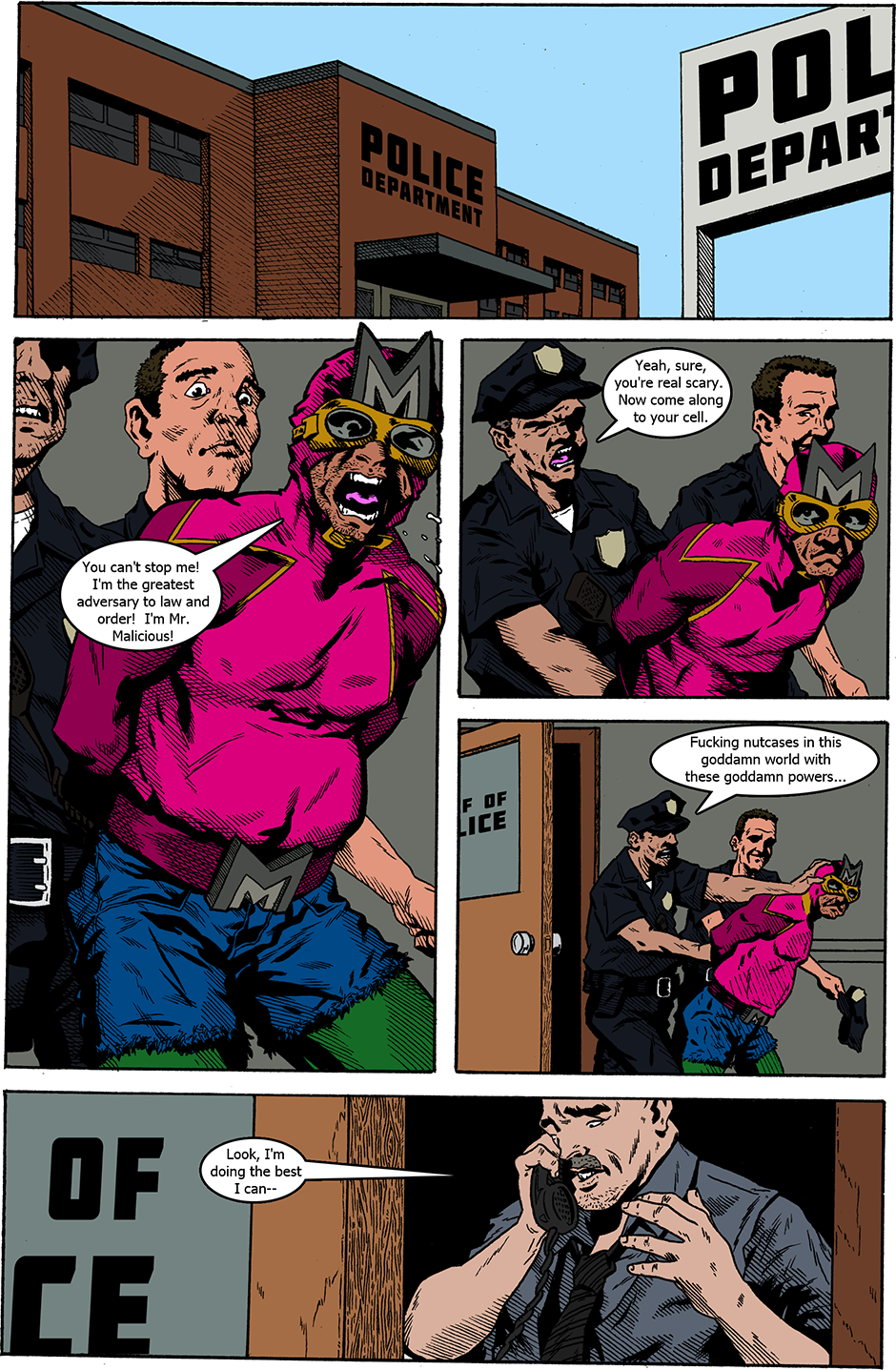 Issue 18: Swamped - Page 1