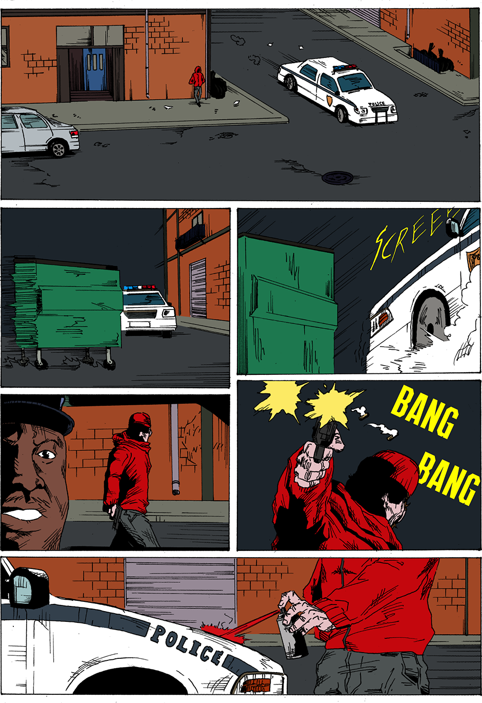 Issue 19: Red Alley Gang - Page 1