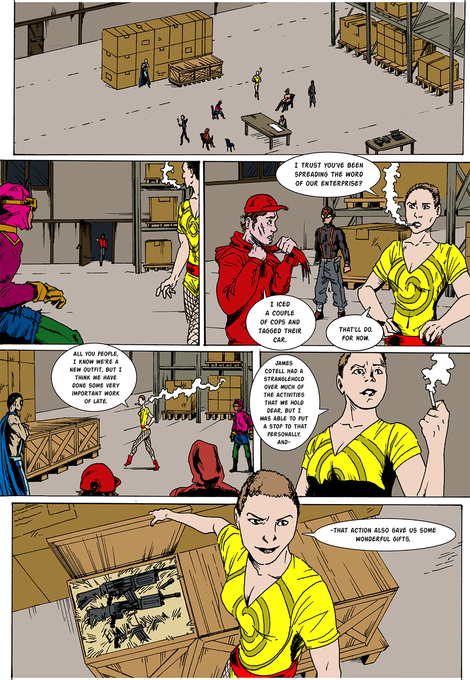 Issue 19: Red Alley Gang - Page 3