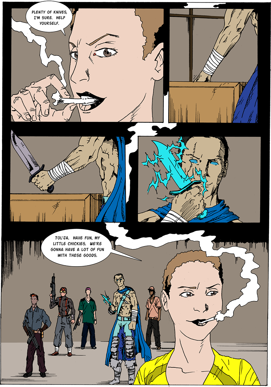 Issue 19: Red Alley Gang - Page 6