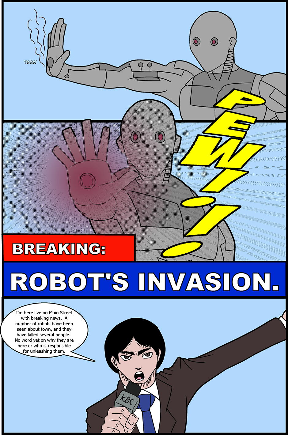 Issue 20: Invasion - Page 2