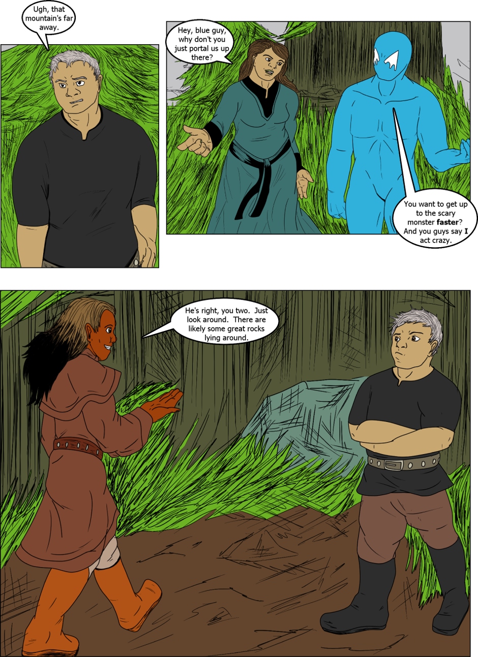 Issue 3: Lies - Page 1