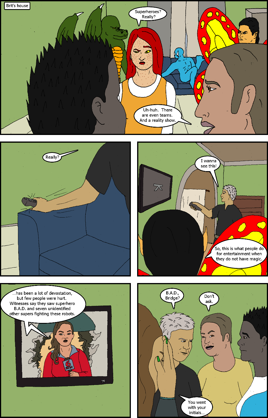 Issue 4: Coming Home - Page 13
