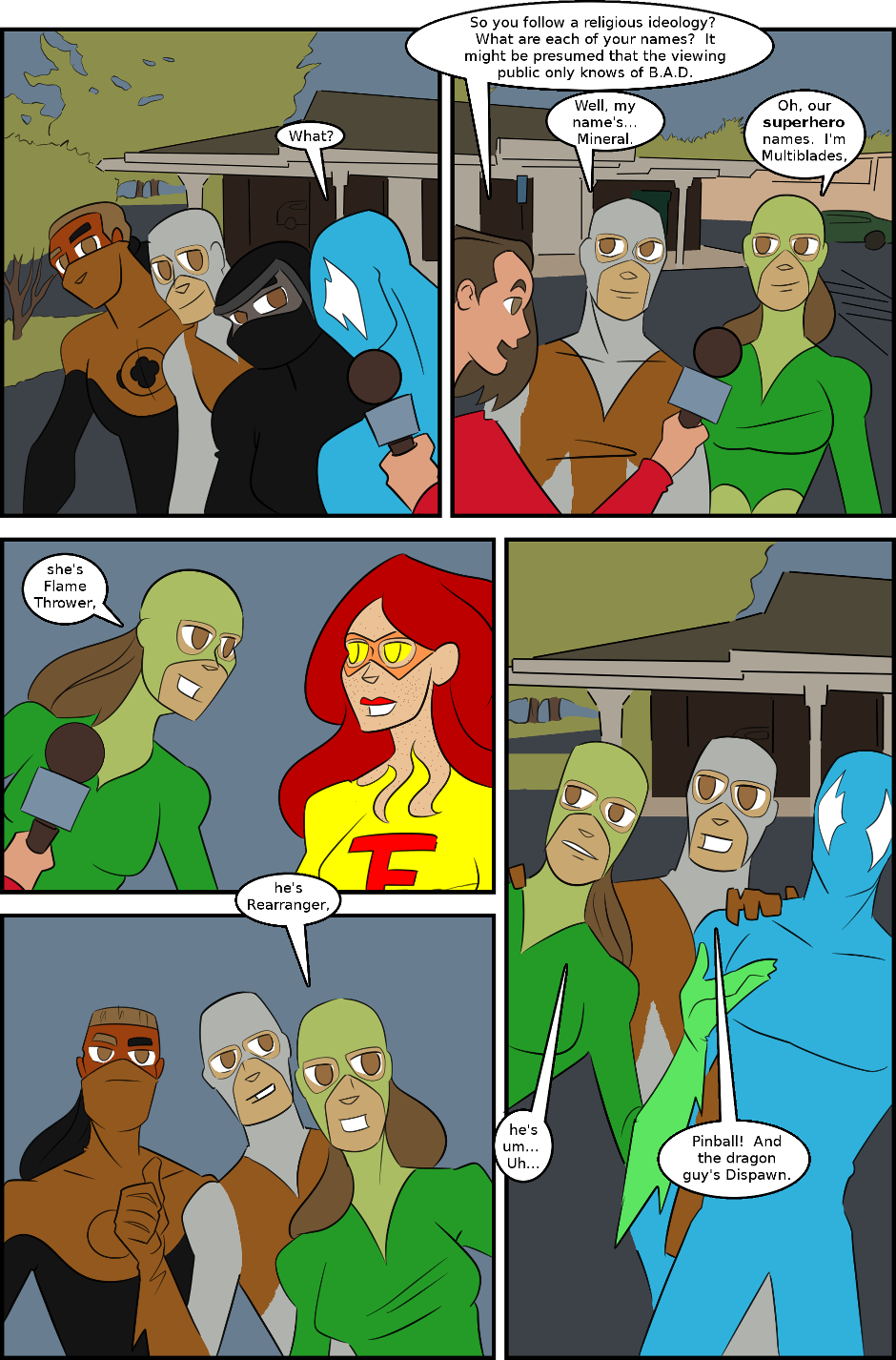 Issue 5: Superheroes - Page 13