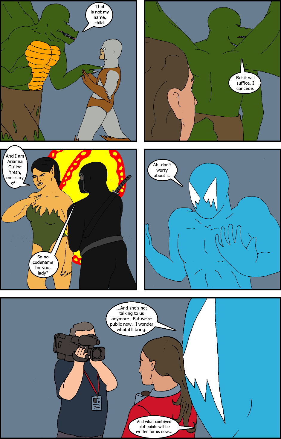 Issue 5: Superheroes - Page 14