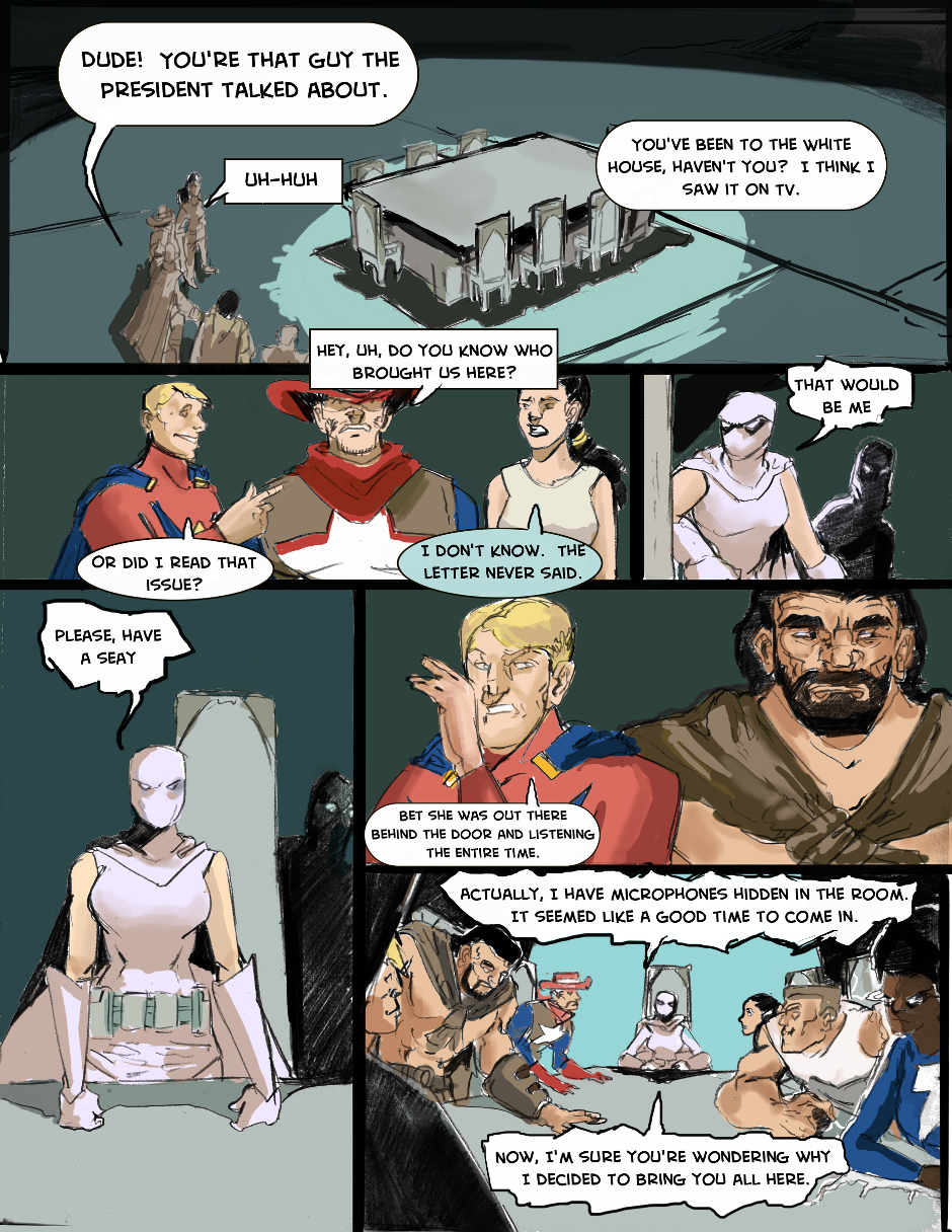 Issue 1: The First Mission - Page 1