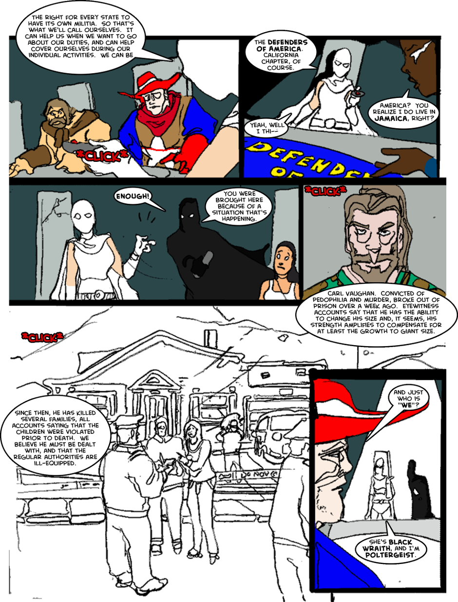 Issue 1: The First Mission - Page 3