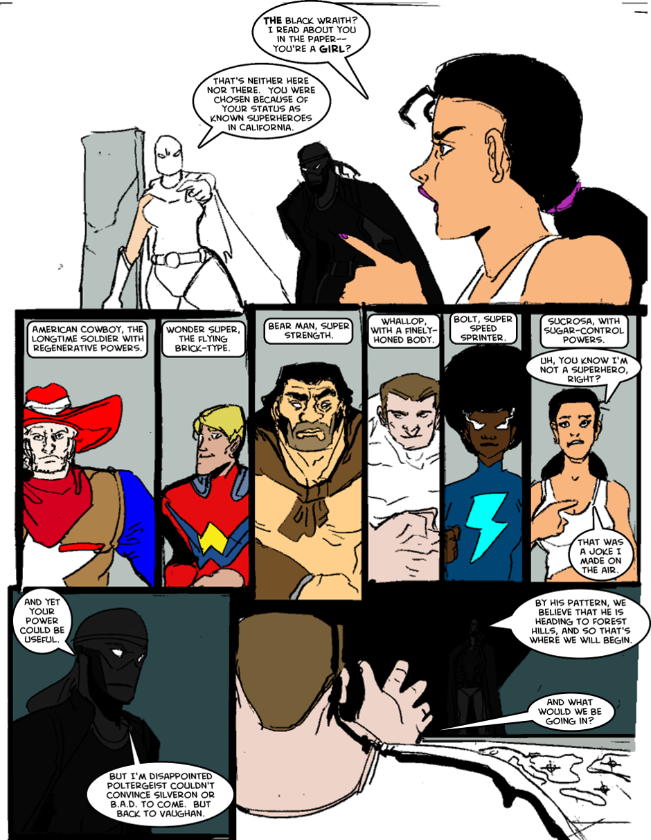 Issue 1: The First Mission - Page 4