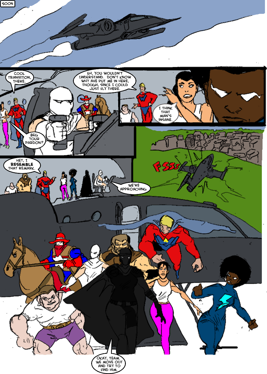 Issue 1: The First Mission - Page 5