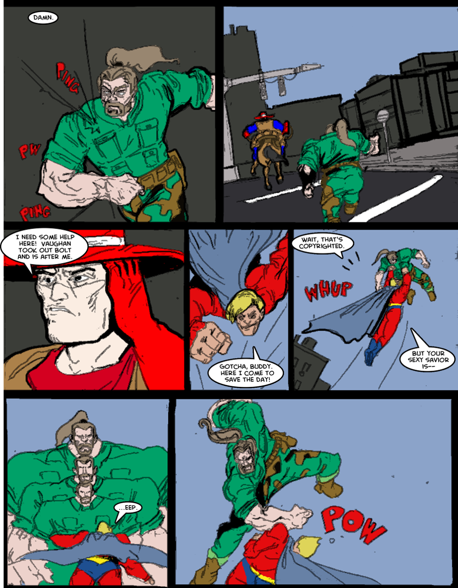 Issue 1: The First Mission - Page 8