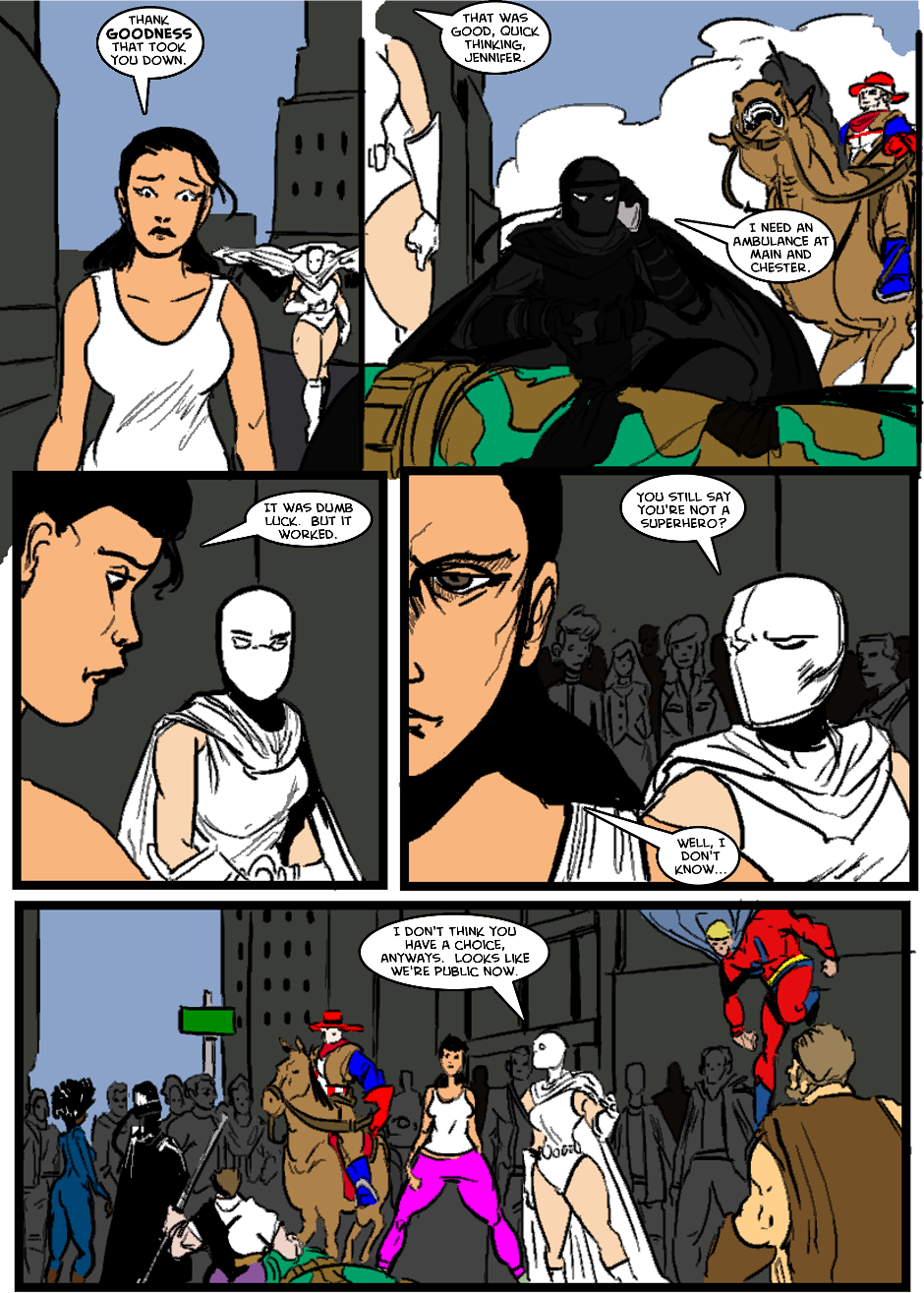 Issue 1: The First Mission - Page 14