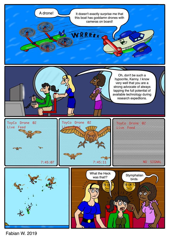 Drone vs. Birds