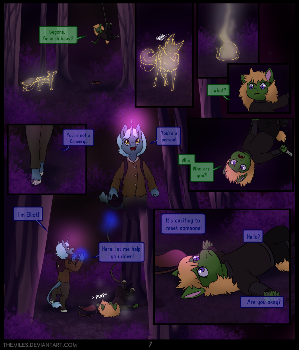 Tales of Aer - Second Tale, Page 7