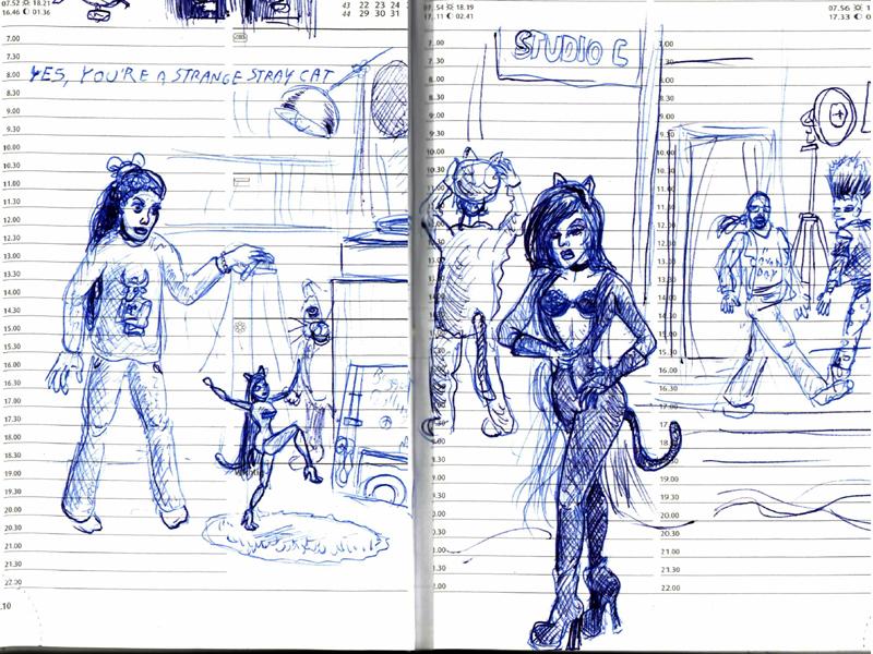 Cleo & Kitty - Part I (by Stilldown)