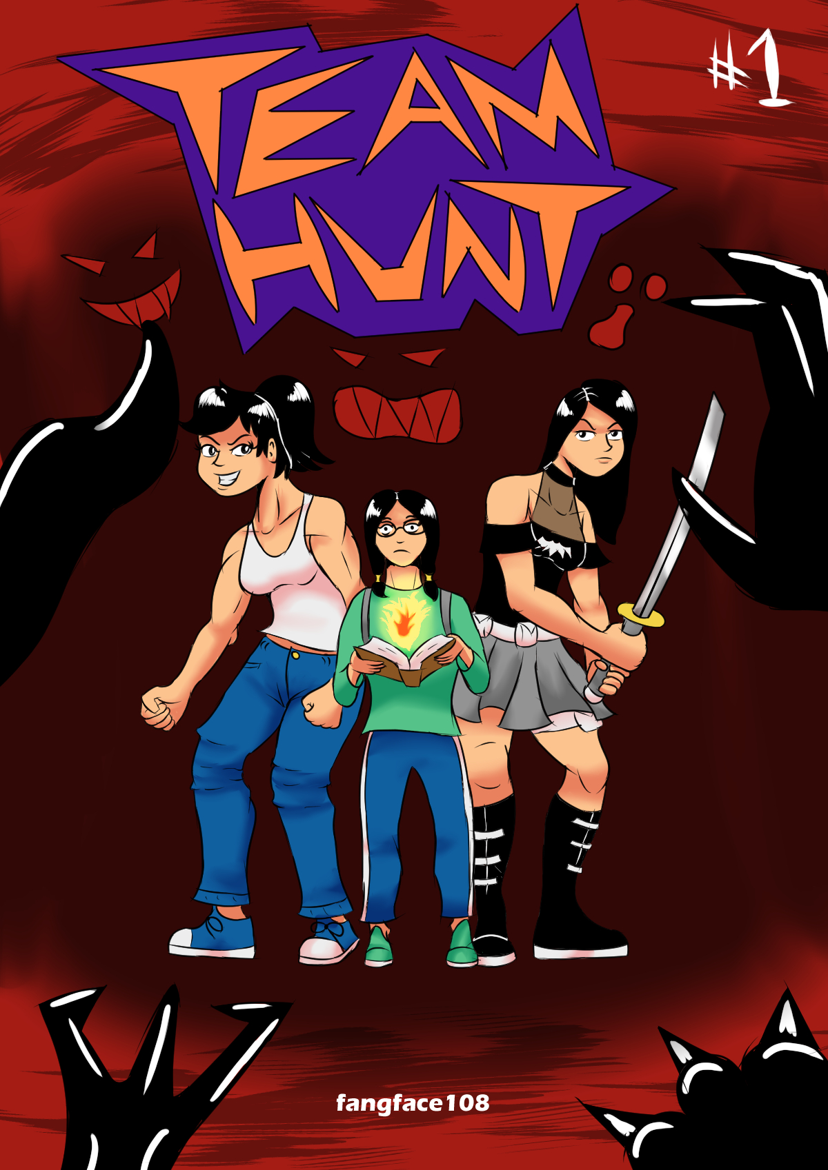 Team Hunt Issue 1