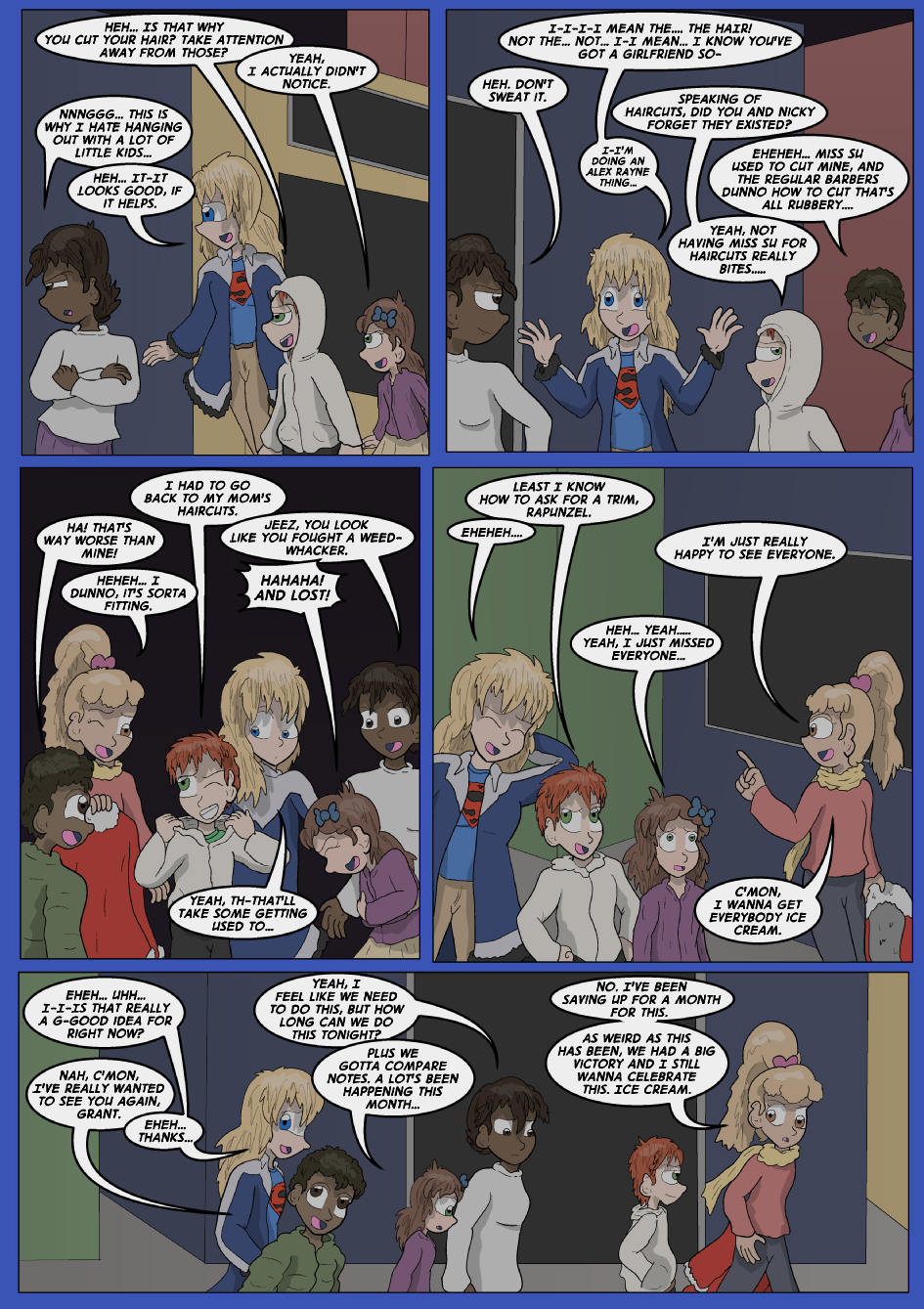 Been Missing Blue, Page 4