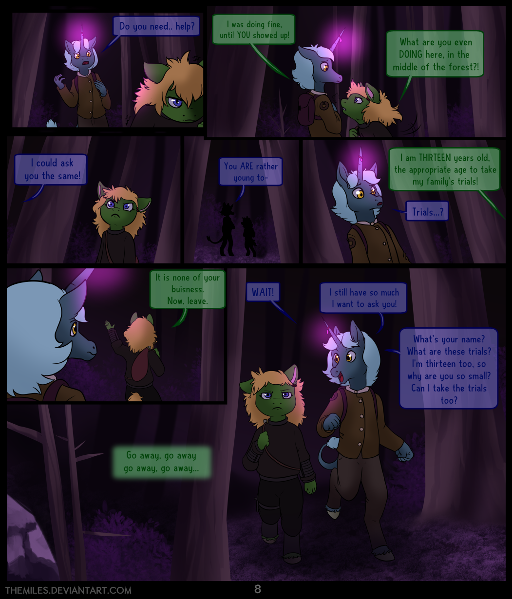 Tales of Aer - Second Tale, Page 8
