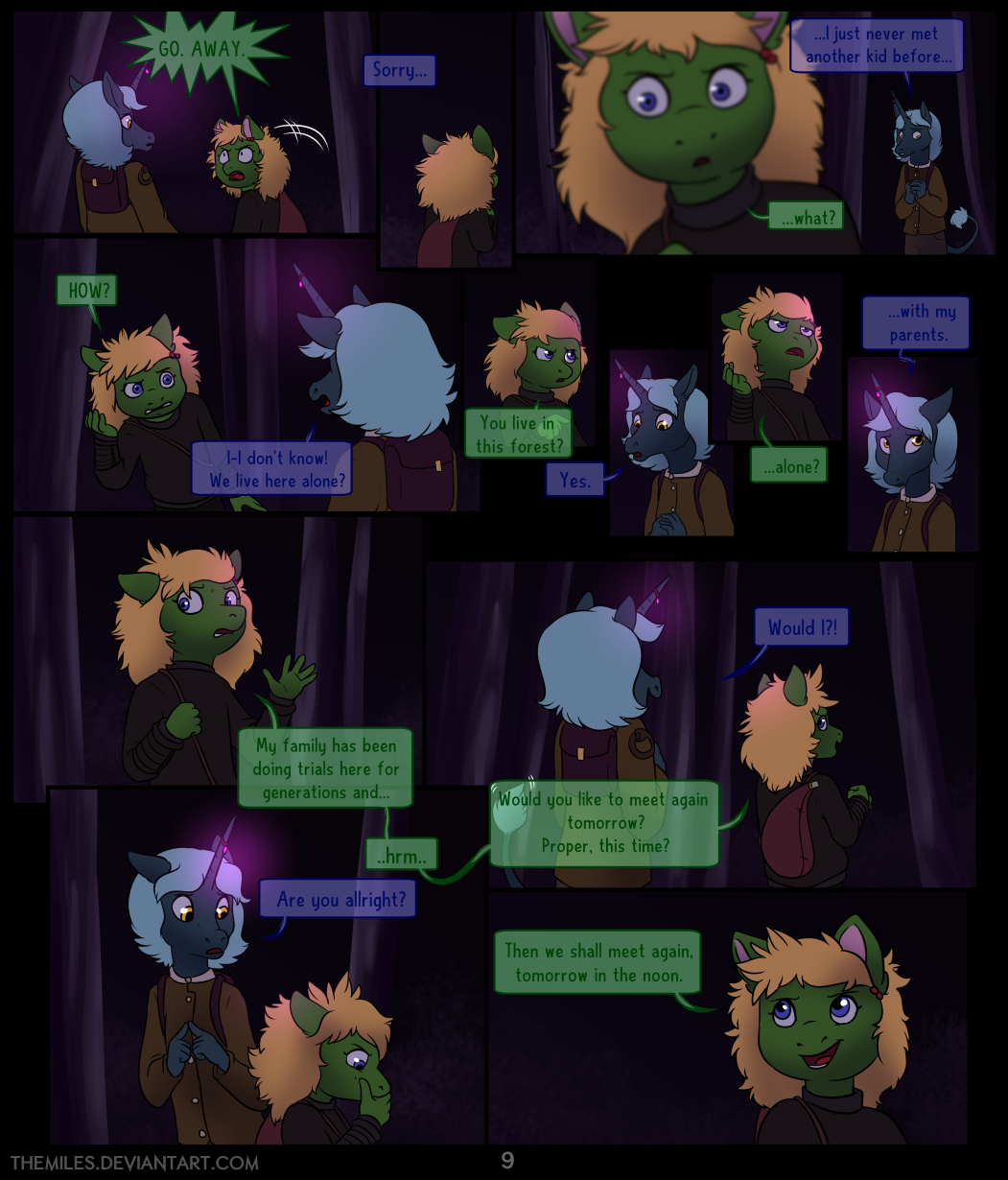 Tales of Aer - Second Tale, Page 9