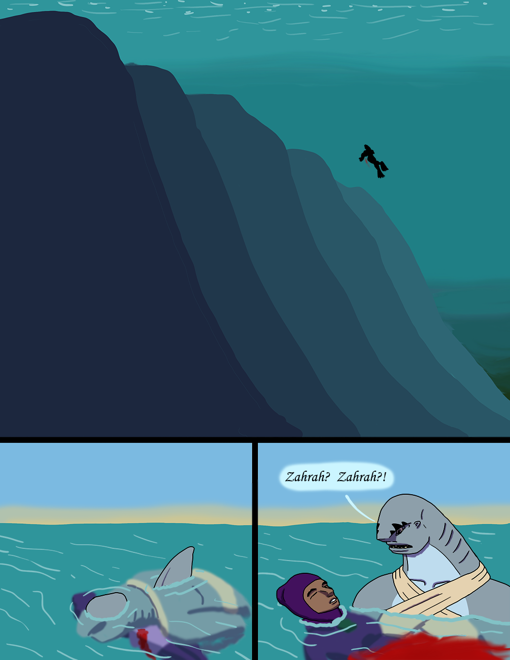 The Wide Ocean - Page 98
