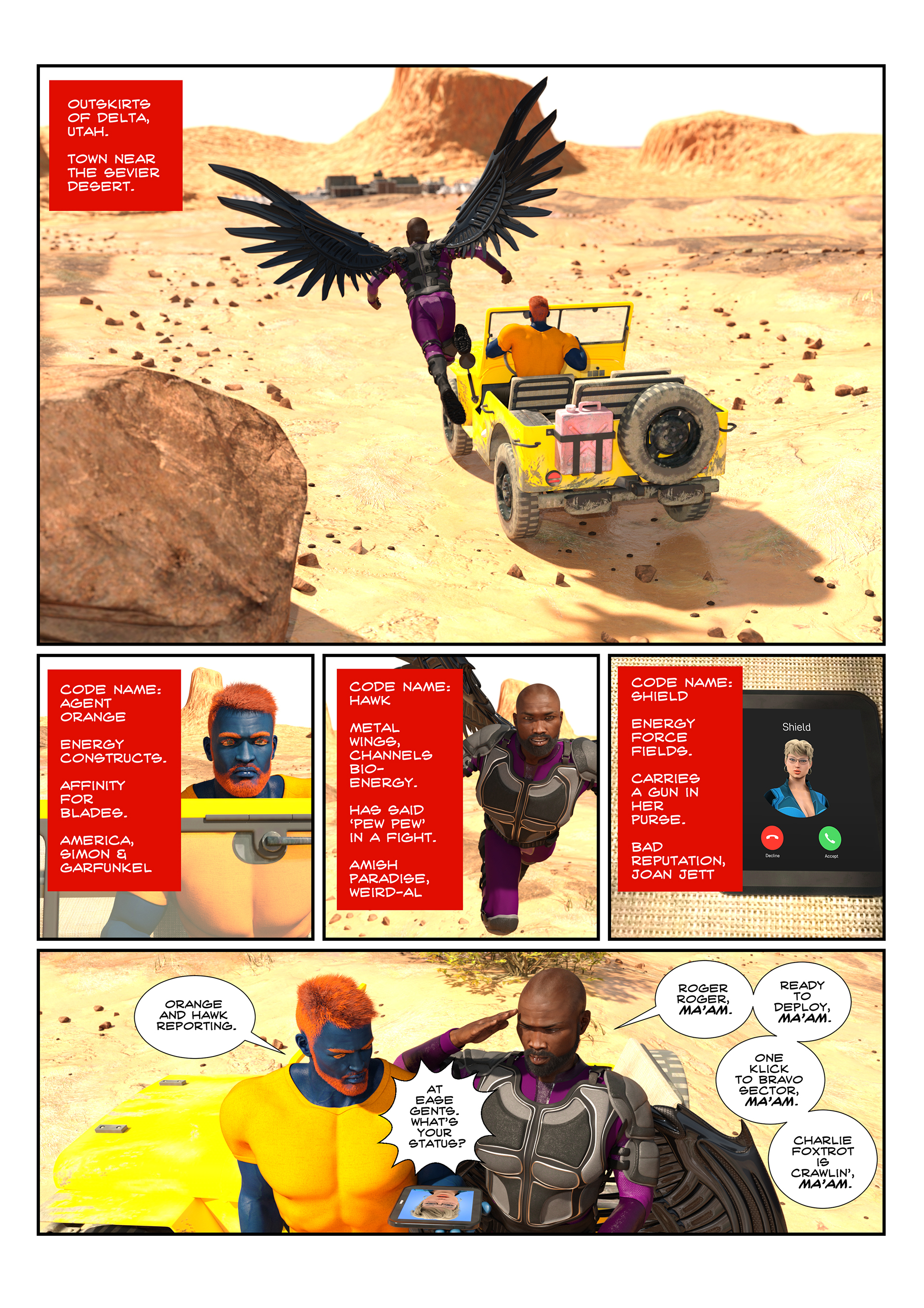 Unit-M - Issue 0.3 - Page 3