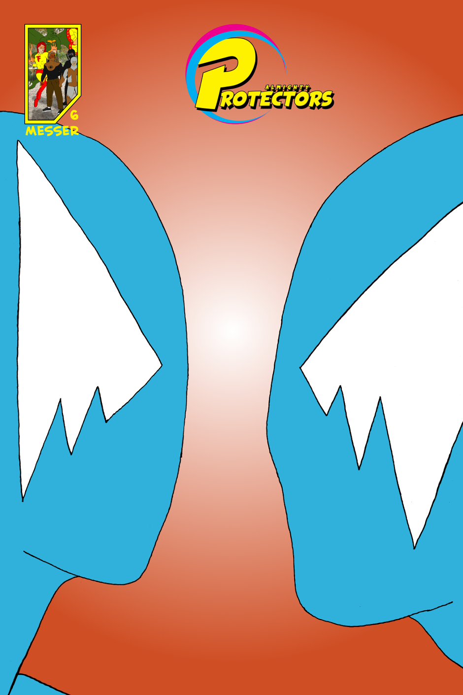 Issue 6: Two Blues - Cover