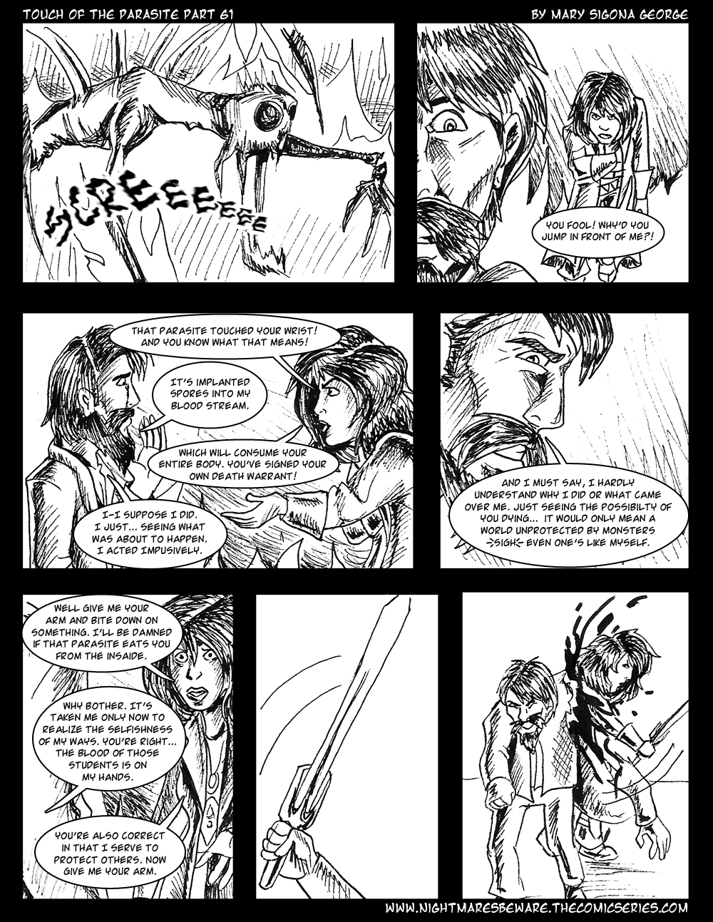 Touch of the Parasite: Part 61