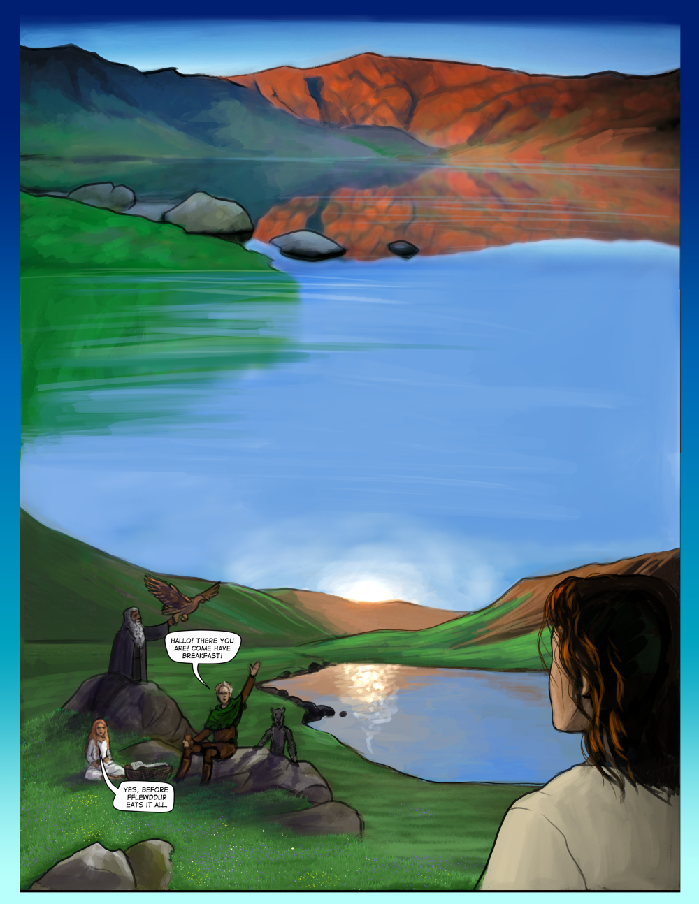 Chapter Fourteen, page one