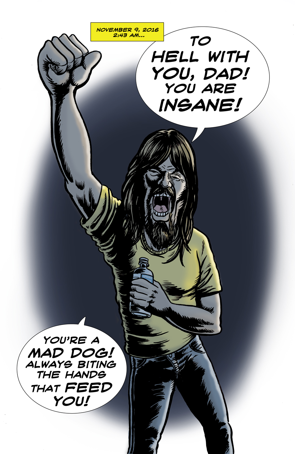 This Damn Nation: Cursing the Darkness!
