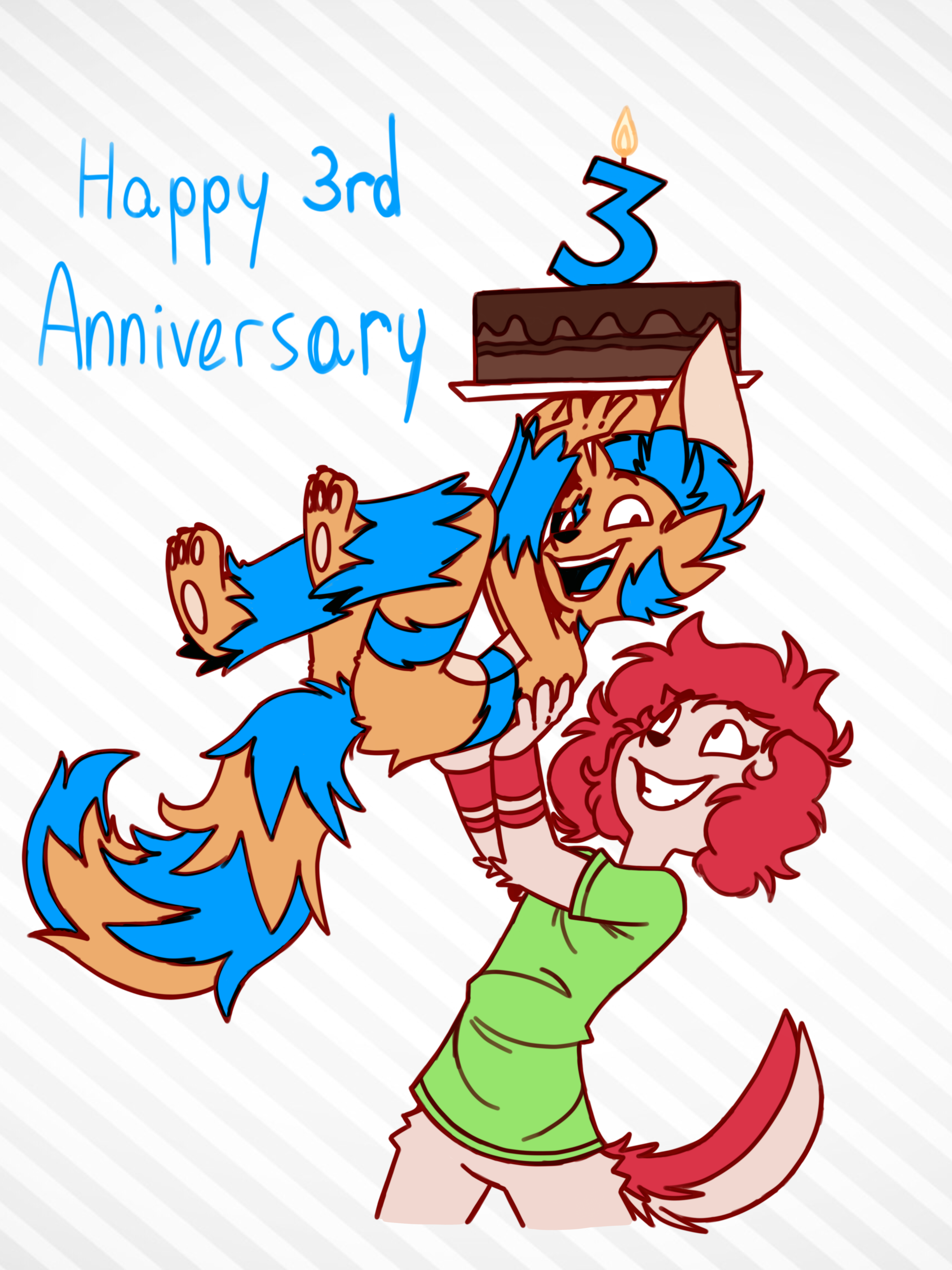 Happy 3rd anniversary!!
