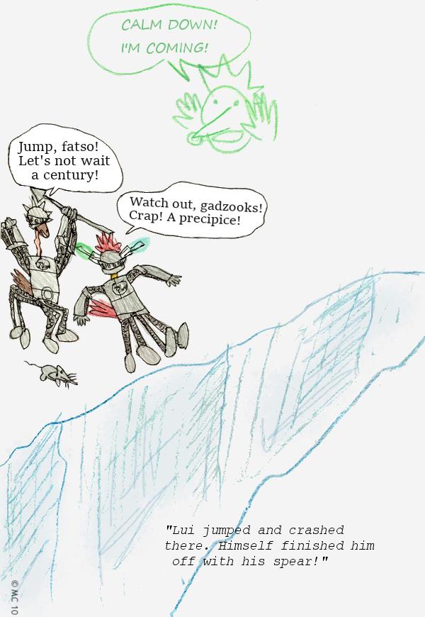 TV Knights: Cliffhanger