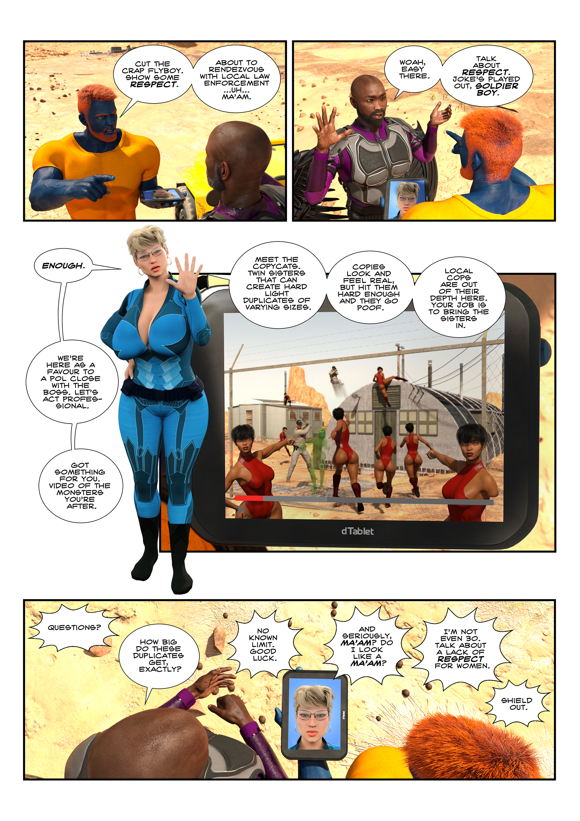 Unit-M - Issue 0.3 - Page 4
