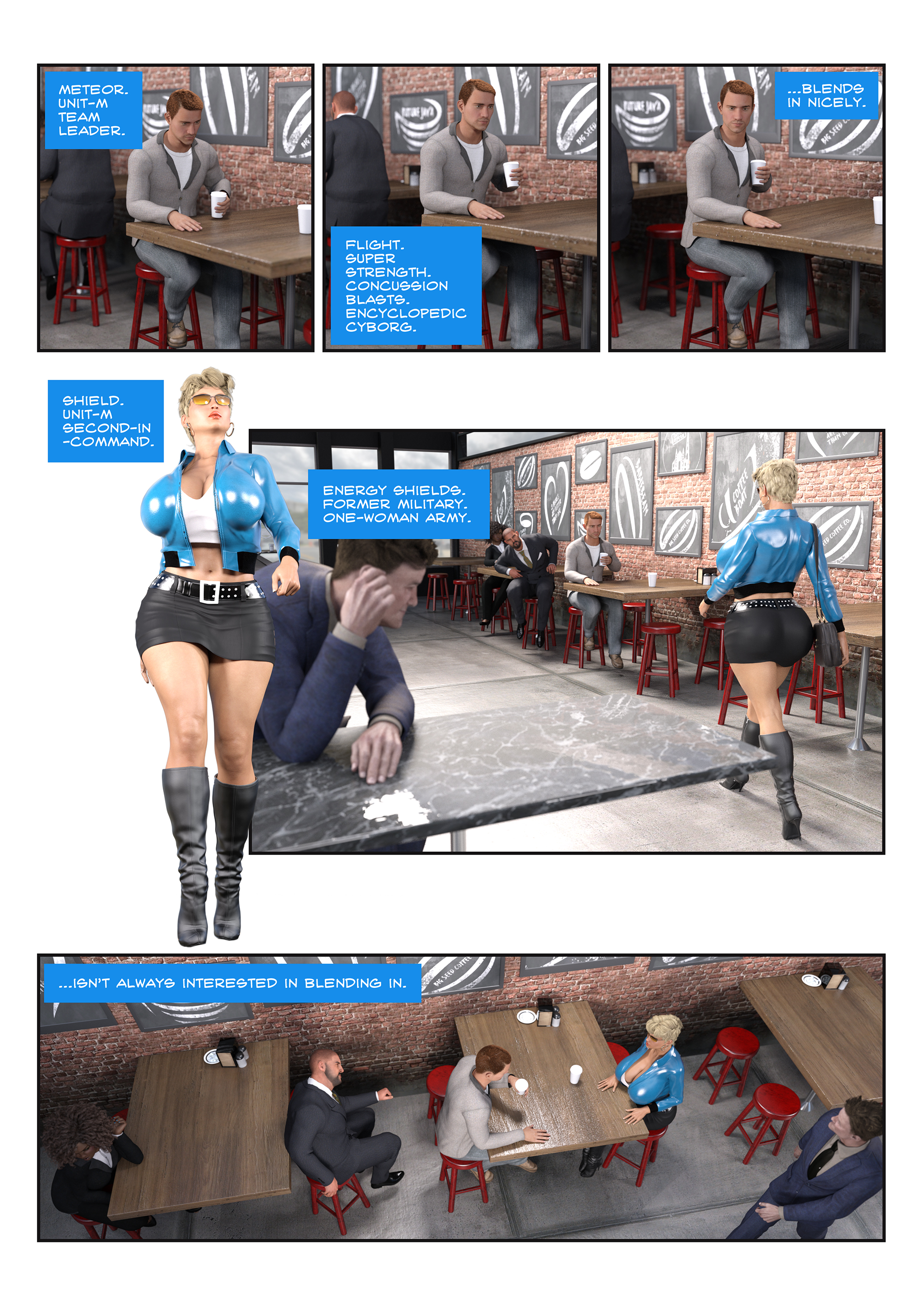 Unit-M - Issue 0.1 - Page 4