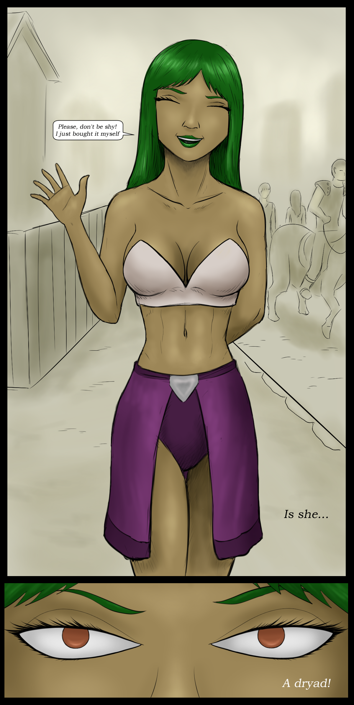 Page 7 - The green-haired dryad
