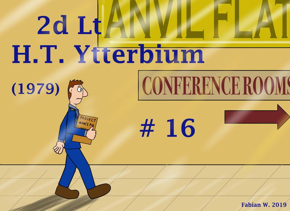 16 - 2d Lt H.T. Ytterbium
