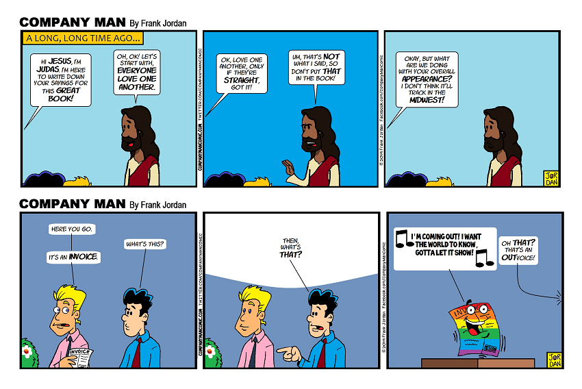 Old #GayPride & #Inclusion strips I have #ReFunnied for YOU! 6/7/19