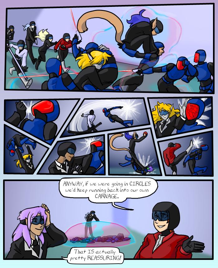 Five Second Fight Scene