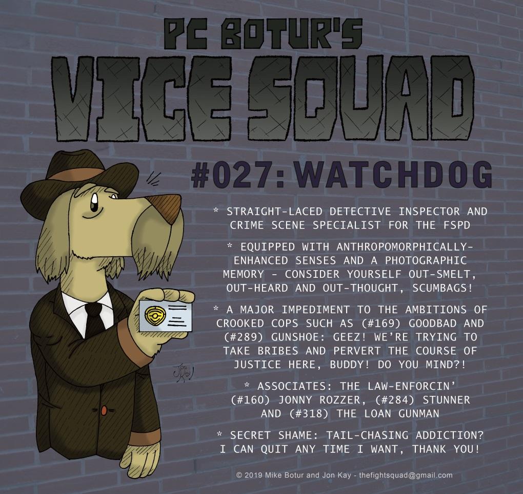 Character profile: Watchdog