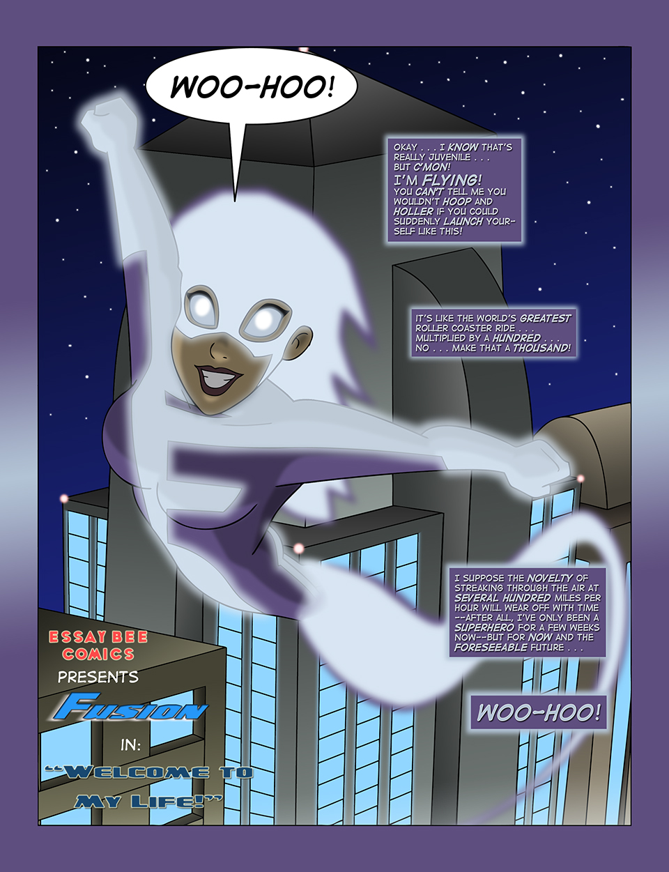 Fusion #1 Page 1