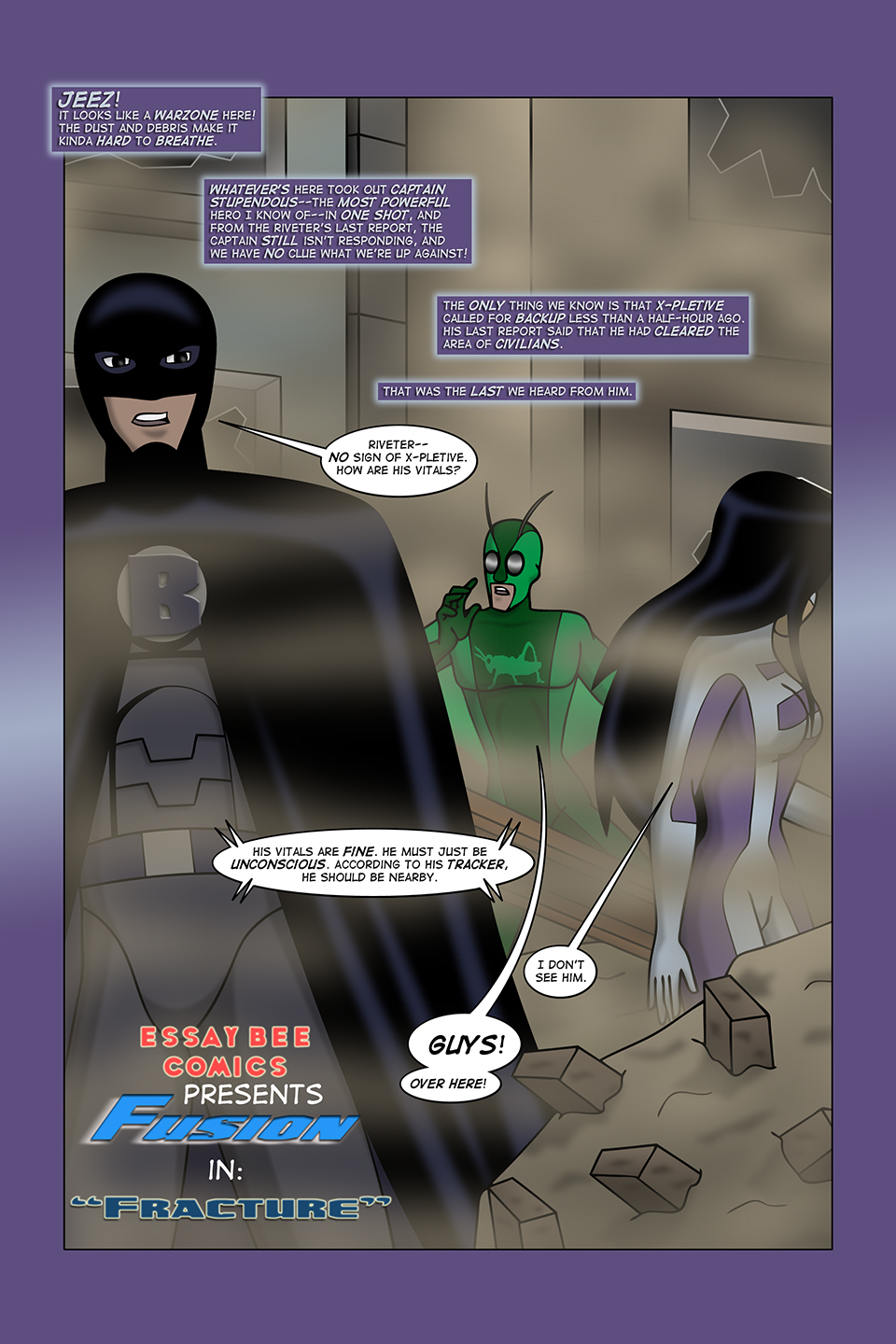 Fusion #3 Page 1