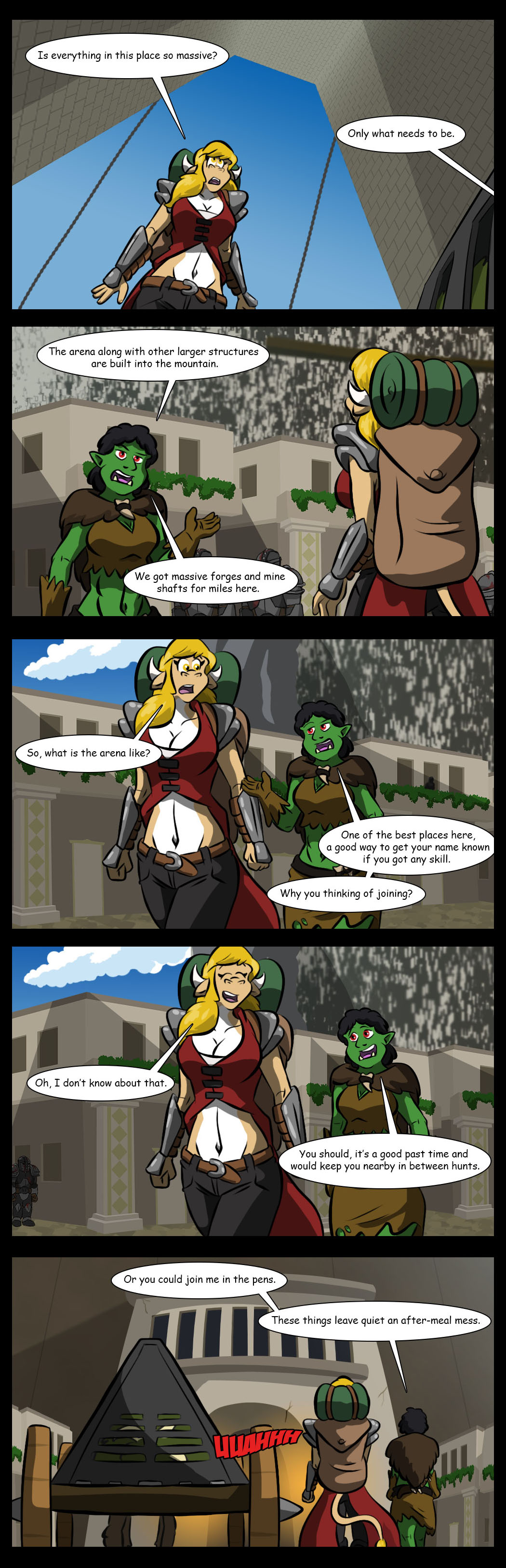 Stable brawler
