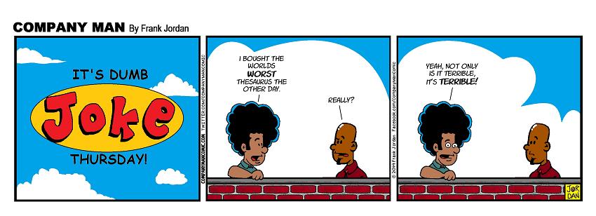 It's #DumbJokeThursday! 6/27/19
