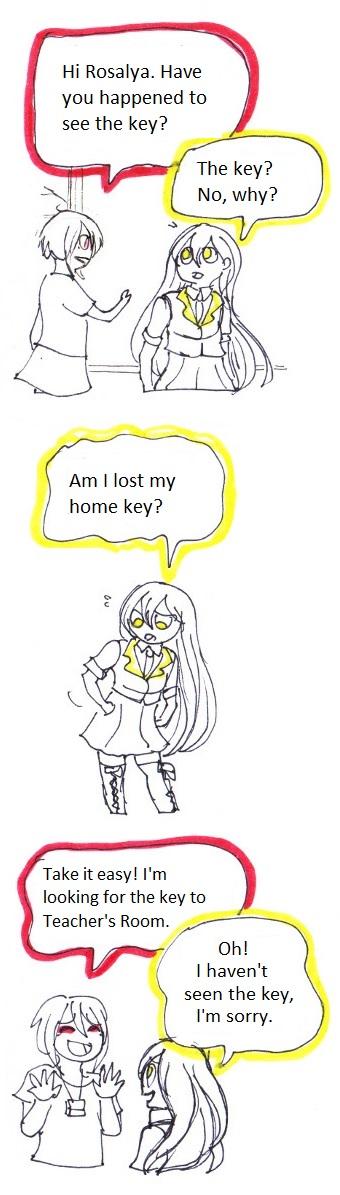 Lost key 01