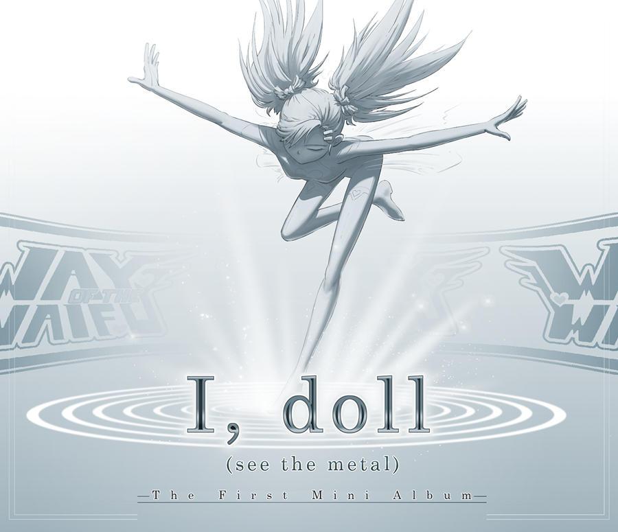 I, doll - The First Mini Album Cover Art